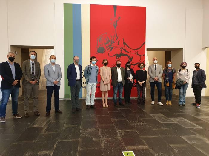 Mariano Sinues margolariaren 40 lan baino gehiago ikusgai daude Nafarroako Museoan