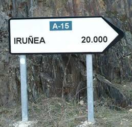 Leitzatik Iruñera, 20.000 kilometro