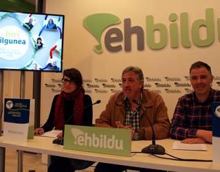 Iruñeko publizitate instituzionalaren banaketari helegitea jartzea aztertzen ari da EH Bildu