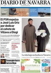 Burka (Diario de) Navarrara iritsi da