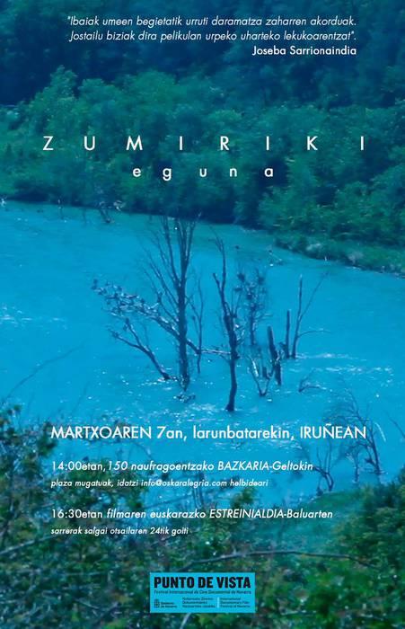 ZINEMA: 'Zumiriki' (Oskar Alegria)