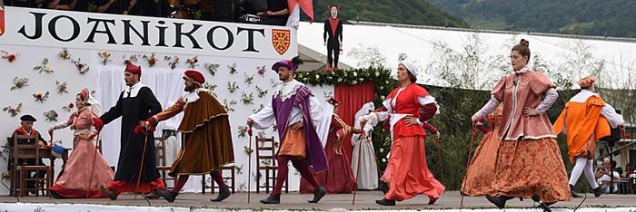 1512ko Nafarroako konkista 'Joanikot' pastoralaren bidez, igandean
