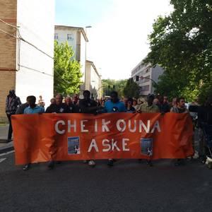 Cheikhounari babesa azaldu dio Iruñeak