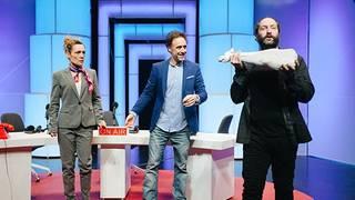 Ados Teatroa konpainiaren 'Idiot Txou' komedia, gaur Antzerkiaroan