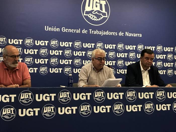 """UGT: """"Euskara ikur eta publikazioetan ikustea deserosoa da askorendako"""""""
