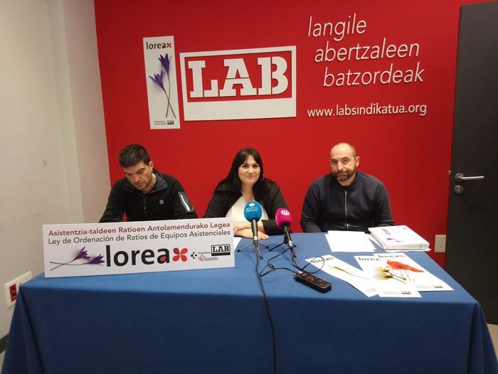 Osasungintzan ratio lege bat bultzatzeko 'Lorea' proiektua aurkeztu du LABek