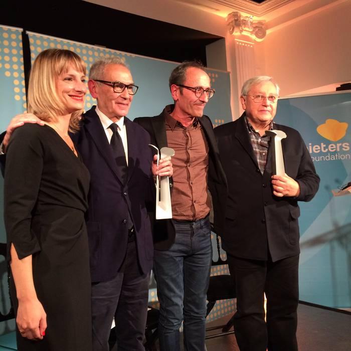 Coppieters Saria jaso du Patxi Zabaletak, Bruselan
