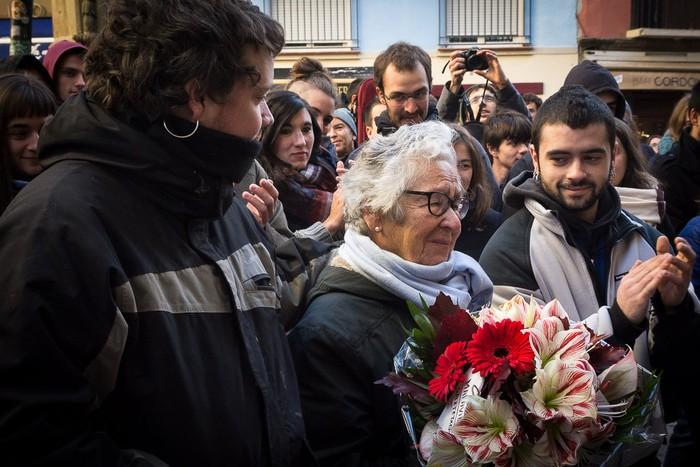 'Maravillas' deitzen da Iruñeko Alde Zaharreko gaztetxea