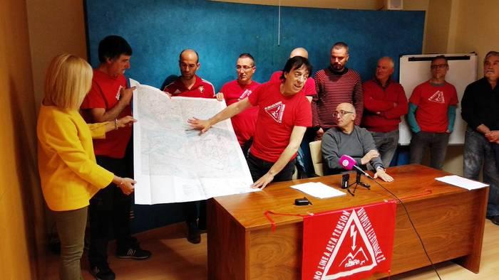 Goi Tentsioko Linearentzat hirugarren proiektua aurkeztu du Red Electrica Españak