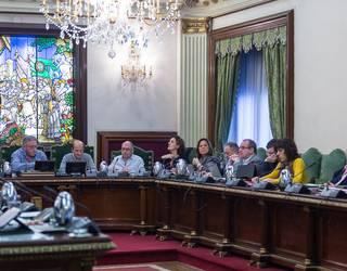 Euskararen udal ordenantza onartu du Iruñeko Udalak