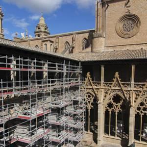 Katedraleko lanak bisita daitezke igandetik aurrera