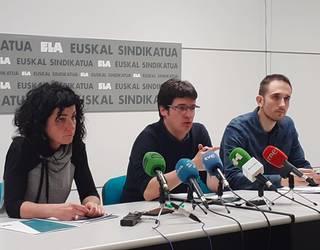 2020ko aurrekontuak antisozialak direla eta austeritate politikekin jarraitzen dutela kritikatu du ELAk