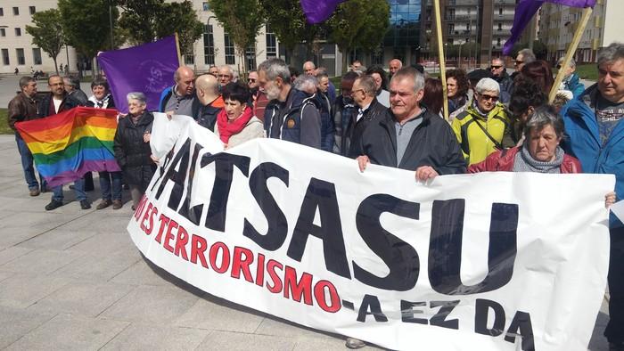 Terrorismo delitutzat hartuta epaituko dute Altsasuko Auzia
