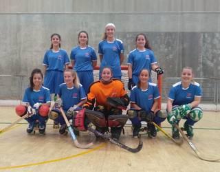 Emakumezkoen Patin Hockey 1. Iparralde Ligan bi talde nafar parte hartzen ari dira