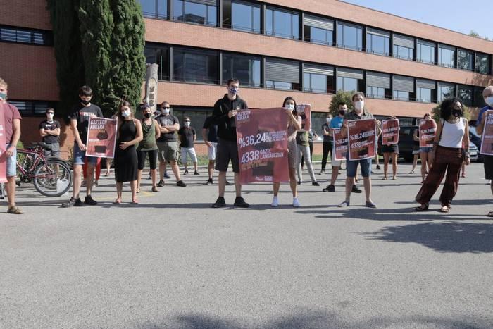 Irailaren 26an manifestazioa egingo dute Ernaik eta LABek