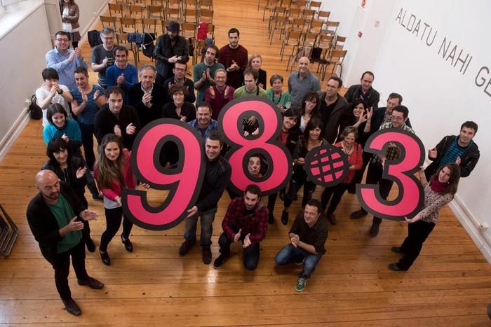 Astelehenetik FM 98.3 frekuentzian emitituko du Euskalerria irratiak