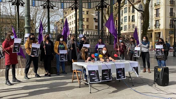 Auzoka eta herrika eginen du protesta mugimendu feministak Martxoaren 8an