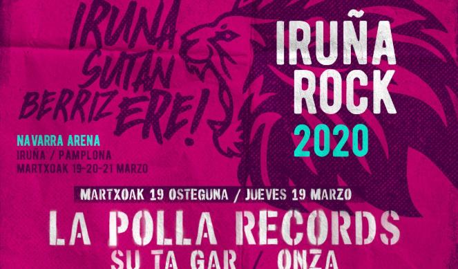 La Polla Records izango da Iruña Rock jaialdiko kartel burua