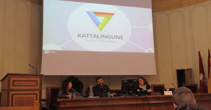 'Kattalingune' aurkeztu dute, Nafarroako LGTB zerbitzua