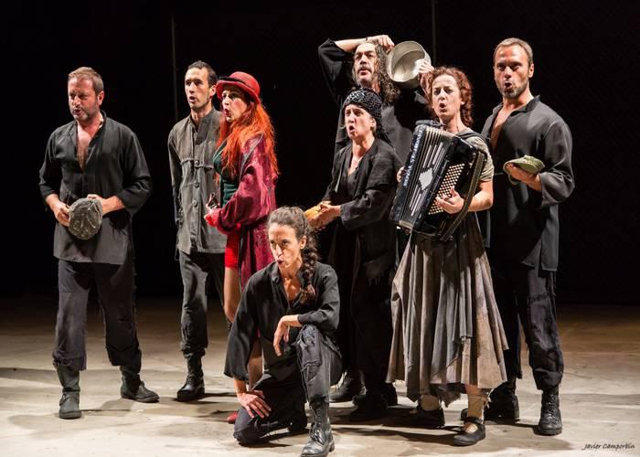 Musika, dantza flamenkoa eta Europako antzerkiko klasikoak, Erriberriko Jaialdiaren azken txanpan