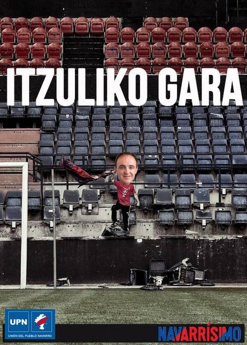 """""""Itzuliko gara"""", UPNren kanpaina berria"""