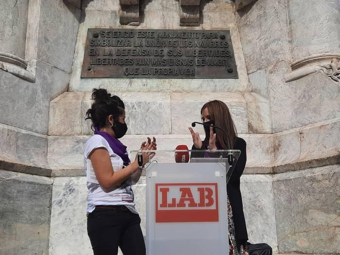 Sindikalismo feministaren zilegitasuna defendatu dute