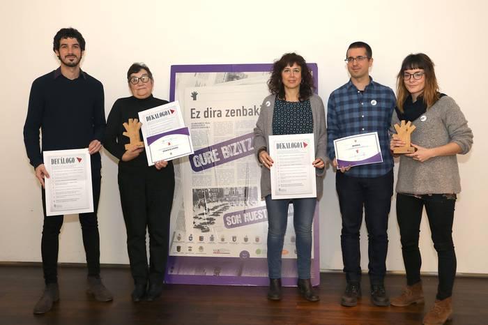 Euskalerria Irratiko Saioa Alkaizarentzat, genero berdintasunaren kazetaritza saria