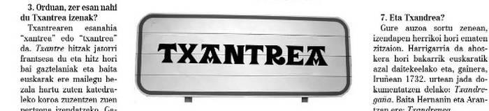 Txantrea toki-izenaren dekalogoa