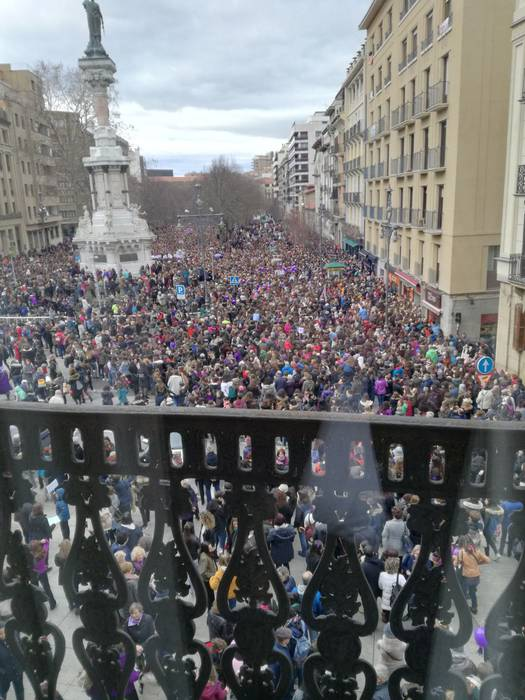 Martxoaren 8ko Iruñerriko mobilizazioak