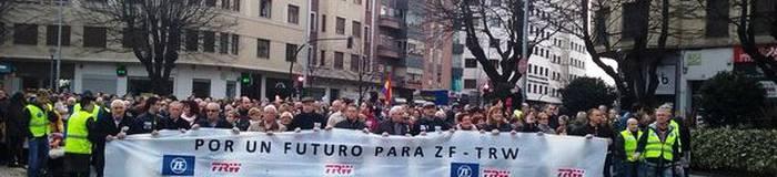 Industria Ministerioarekin batzartuko dira TRWko enpresa komitea eta Nafarroako Gobernua