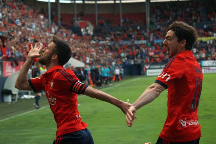 Hitzometroa  Osasuna-Albacete (2-1)