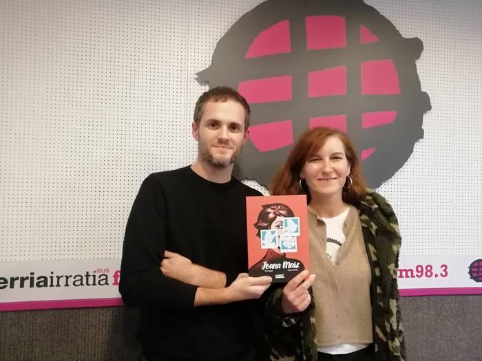 """KOMIKI AURKEZPENA: """"Joana Maiz"""", Yurre Ugarte eta Joseba Larratxe"""