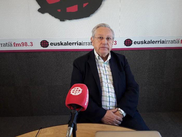 """Patxi Zabaleta: """"Espainiaren egurrari aurre egiteko armarik indartsuena independentisten jarrera baketsua izanen da"""""""