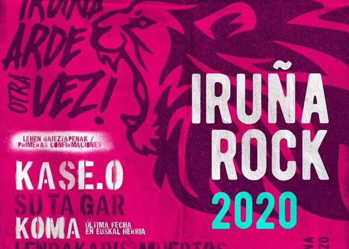 Su Ta Gar, Koma, Los Chikos del Maiz eta Lendakaris Muertos taldeek joko dute 2020ko Iruña Rocken