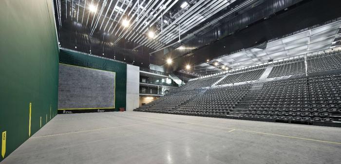 Navarra Arena pabiloia 2018an irekiko dute