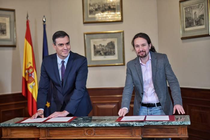 PSOE eta Unidas Podemosen arteko aurreakordioaren erreakzioak, Nafarroan