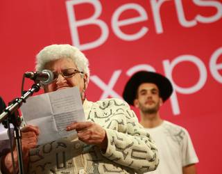 Luzia Goñi bertsolaria hil da, 91 urterekin