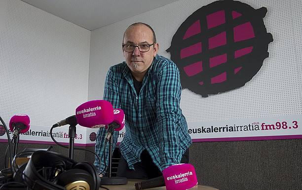 Pello Argiñarena: «Ziurra da irratia kalitate onarekin iritsiko dela 5-10 kilometro inguruan»