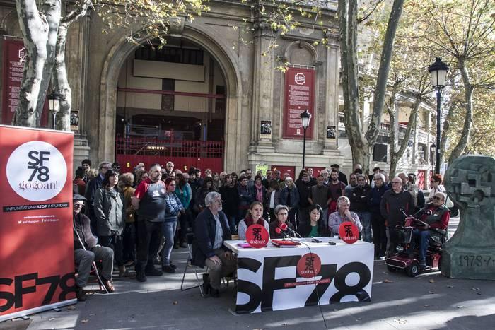 'Trantsizioa: errepresio isilaraziak', jardunaldiak eginen dituzte heldu den astean