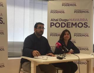 """""""Ezkerrekoa eta soziala"""" den blokea eskaini nahi du Ahal Duguk Iruñerako"""