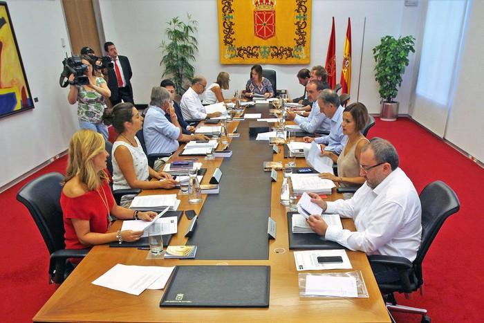 Parlamentuak Nafarroaren autogobernuaren defentsa egin du Espainiako Kontuen Auzitegiaren aurrean