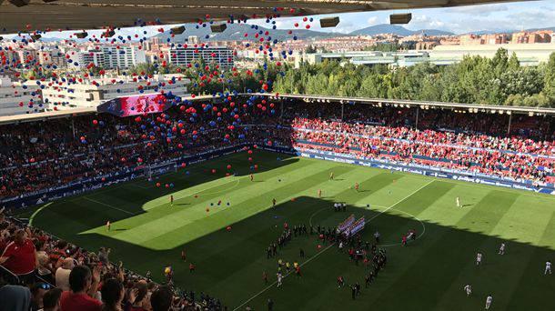Telebista eskubideen etekinak eskatu ditu Nafarroako Gobernuak Osasuna taldearen futbol zelai berriari abala emateko