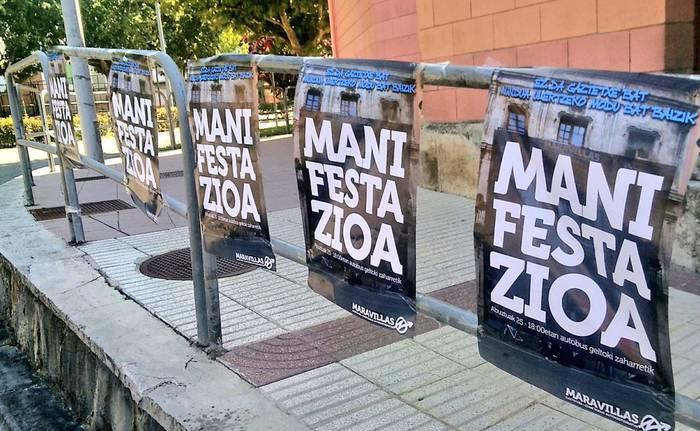Maravillas gaztetxearen aldeko manifestazioa deitu dute urtarrilaren 19rako