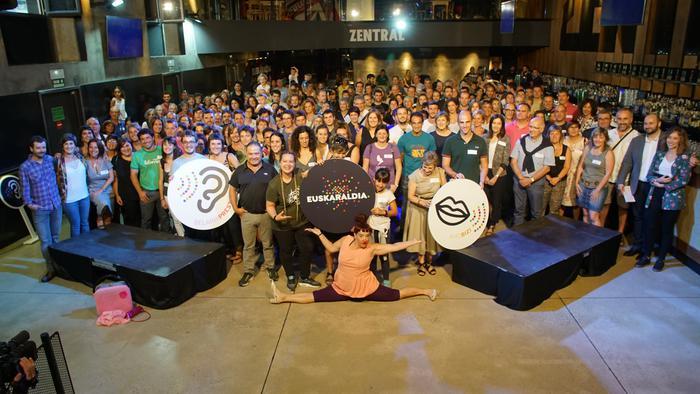'11 egun euskaraz', ariketa sozialean parte hartzeko izen-ematea zabaldu da