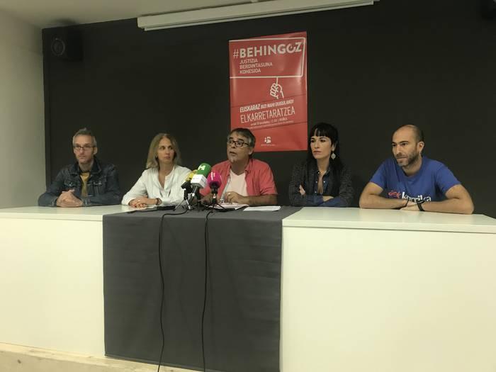 Ausardia eskatu dio Euskalgintzak Gobernuari, euskararen dekretuaren kontrako epaiari aurre egiteko