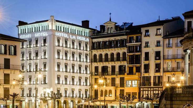 Iruñeko zortzi hotelek aldi baterako ixtea erabaki dute