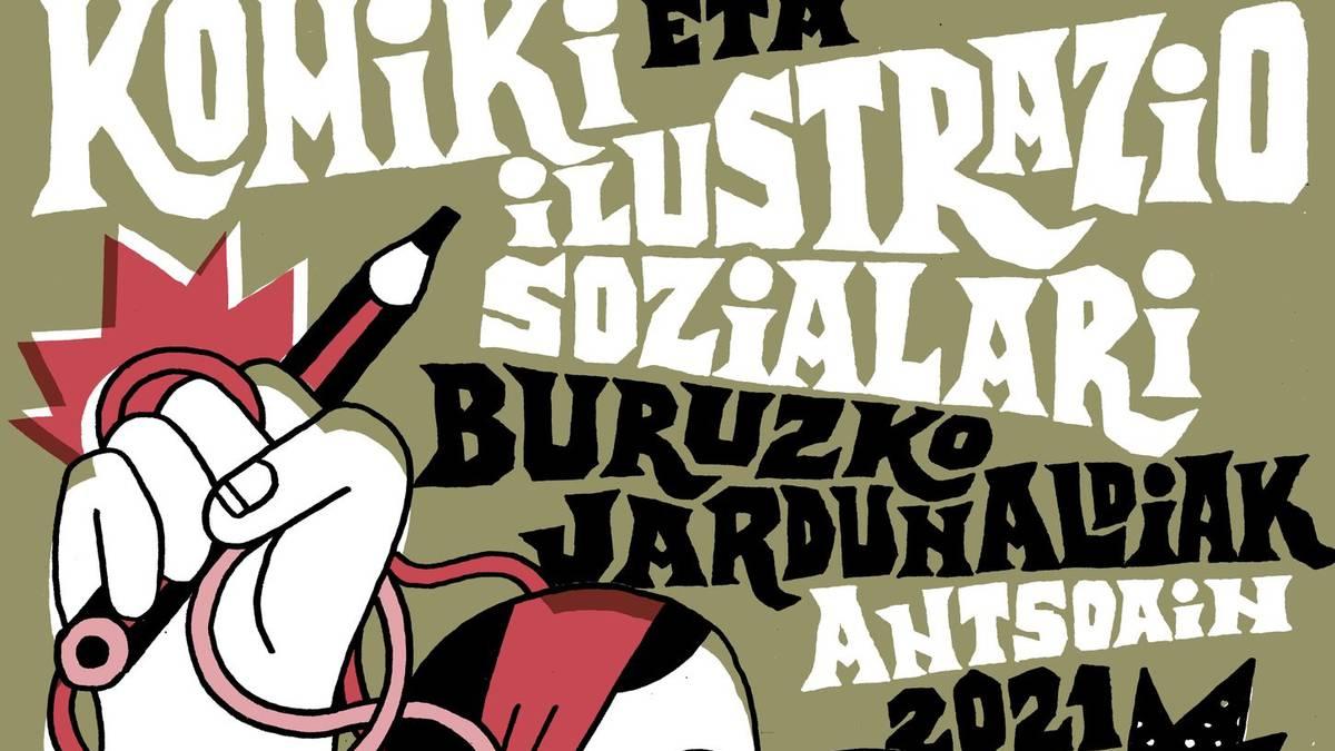 Komiki eta ilustrazio soziala erakusgai, Antsoainen