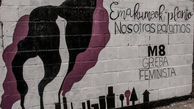 Iruñerrian ere dena prest martxoaren 8ko greba feministarako