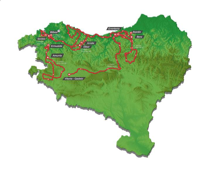Nafarroatik igaroko da Euskal Herriko Itzulia, hirugarren eta laugarren egunean