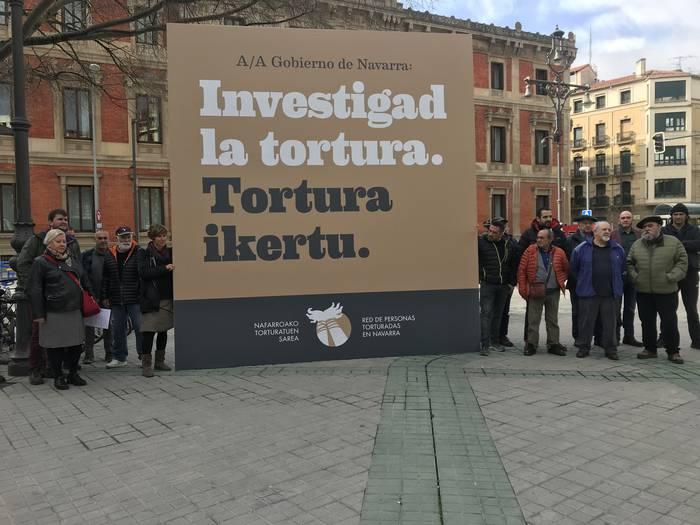 Ikerketa zientifikoa, profesionala eta independientea eskatu du Nafarroako Torturatuen Sareak